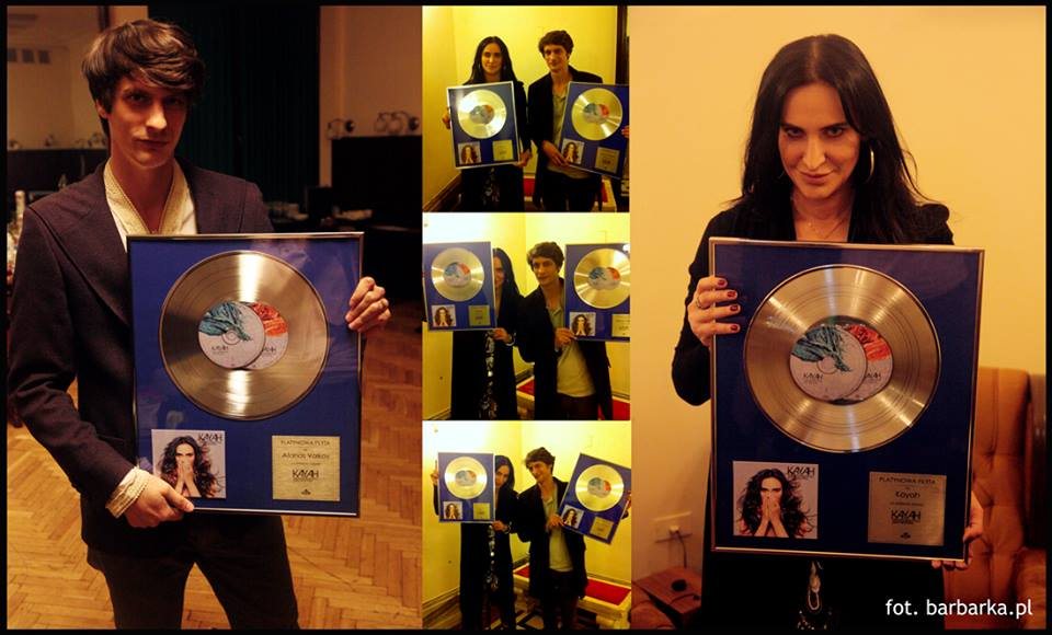 Platinum records for Kayah & Atanas